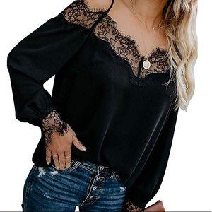 woman loose top blouse